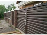 Фото 1 Металлический забор,ограждение Жалюзи.Монтаж,установка,цены,Бровары. 339575