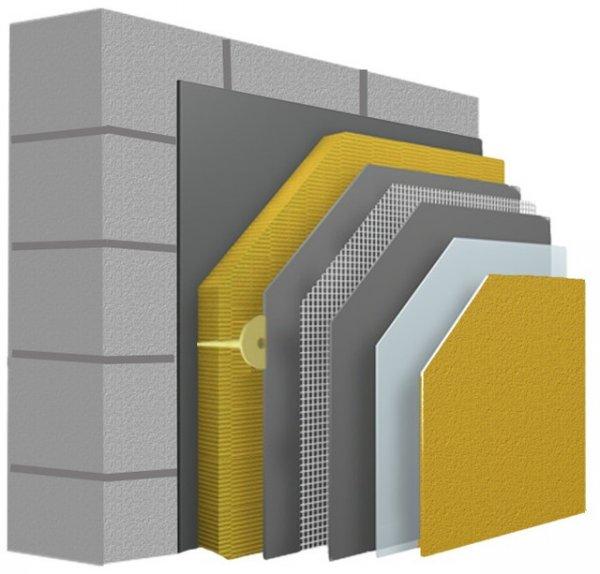 Фото  1 Декоративная фасадная финишная штукатурка, силиконовая, акриловая, силикатная. силикат-силиконовая. Kabe, Vartex 39108