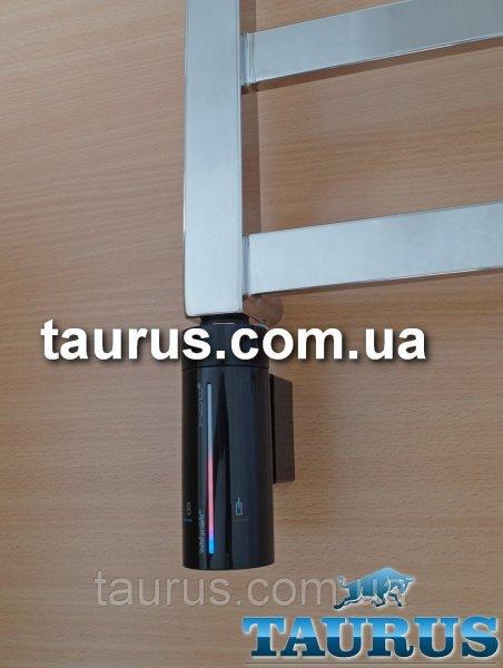 Фото  1 Сенсорный ТЭН InstalProjekt HOT2 (MS) Black с регулировкой, таймером, LED-подсветкой, маскировкой для провода. 1885624