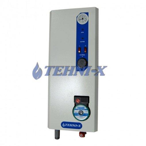 Фото 1 Электрический котел Tehni-x 6 кВт Премиум с встроенным насосом 318158
