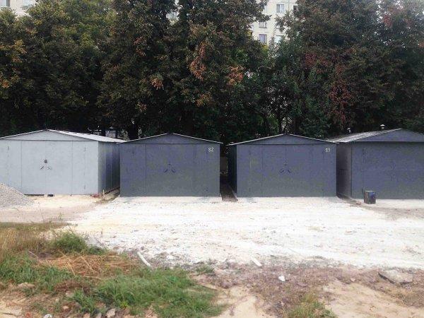 Фото 3 Металевий гараж зі сталі 1,2 мм 303252
