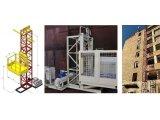 Фото  6 Н-83 м, г/п 2000 кг, 2 тонны. Подъёмник строительный грузовой мачтовый секционный для строительных работ. 2068990