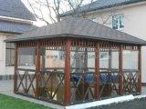 Фото 3 Беседки деревянные больших размеров для кафе, баров, летних площадок 29626