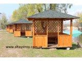 Фото 6 Беседки деревянные больших размеров для кафе, баров, летних площадок 29626