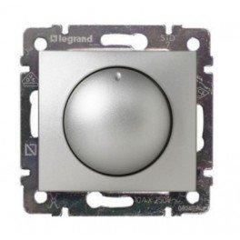 Фото  1 Светорегулятор 40-400 Вт Legrand Valena Classic 770261, цвет алюминий 1919977