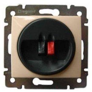 Фото  1 Розетка для аудиоколонок одиночная 2 конт. Legrand Valena Classic 774123, цвет слоновая кость 1919955