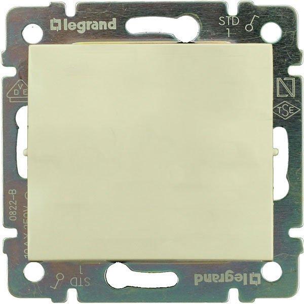 Фото  1 Выключатель 1-клавишный Legrand Valena Classic 774301, цвет слоновая кость 1919920