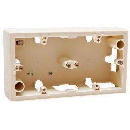 Фото  1 Коробка для накладного монтажа, 2-ная Legrand Valena Classic 776132, цвет слоновая кость 1919960