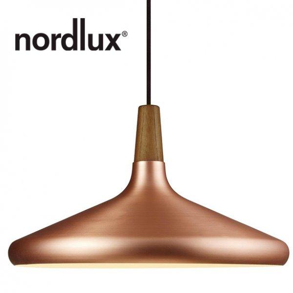 Фото  1 Подвесной светильник Nordlux Float E27 Ø39, полированная медь 2084654