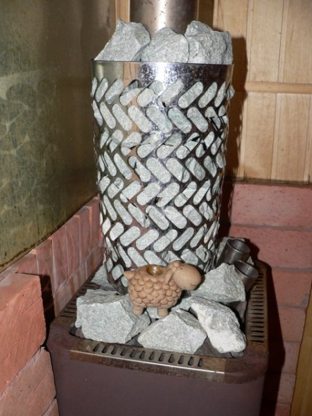Решетка нержавеющая для дымохода банной печи
