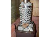 Фото  1 Решетка нержавеющая для дымохода банной печи 1400407