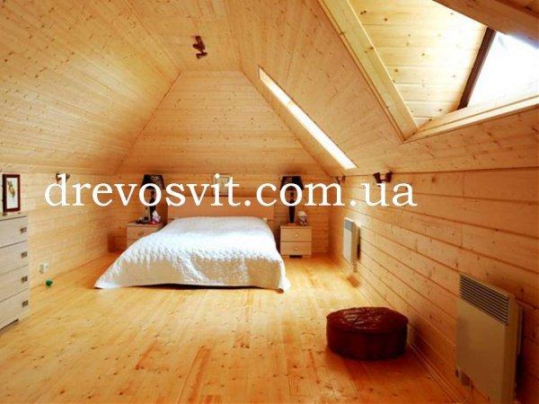 Фото  1 Дошка для підлоги, виготовлена з деревини сосни, шпунтована. Розміри 130*35*4500мм. 1973823