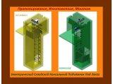Фото  1 Изготовление Консольного Подъёмника МОНТАЖ в железобетонную шахту г/п 500/600 кг. г. Полтава 2149637