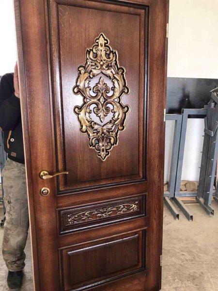 Фото 2 Двери межкомнатние с резьбой из Массива 323906