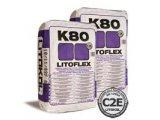 Фото  1 Клей эластичный для плитки серый Litoflex K80 (Литофлекс К80, Литокол) 350118