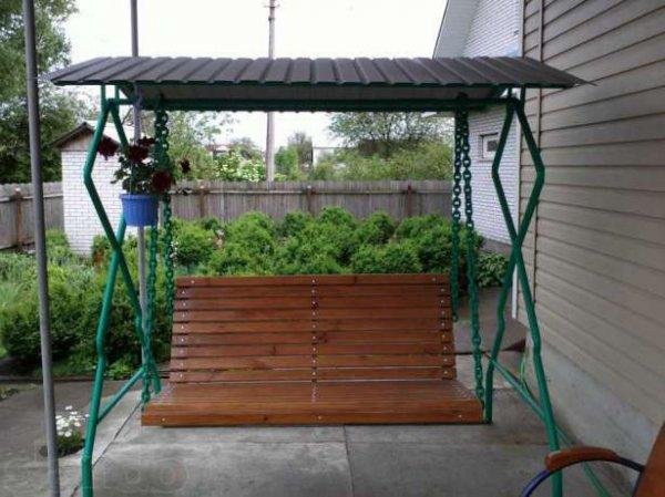 Фото 6 Беседка, навес,изделия из металла, качели,ворота, гараж,забор 303205