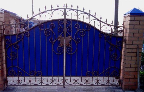Фото 4 Ворота кованые с калиткой 332647
