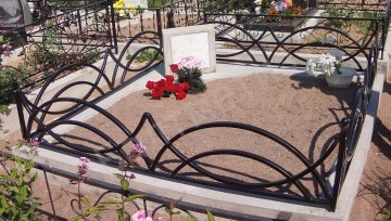Фото оградок на кладбище своими руками