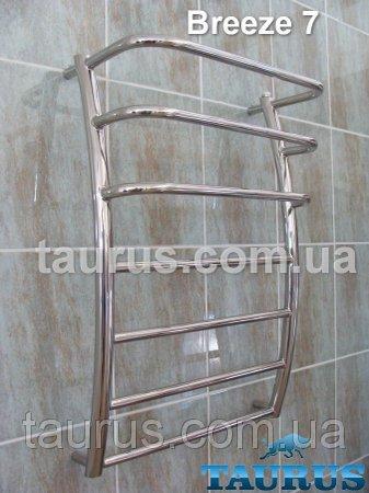 Фото  1 Breeze 7/3 / 500 - полотенцесушитель для ванной комнаты. Высота 750 мм. 529462