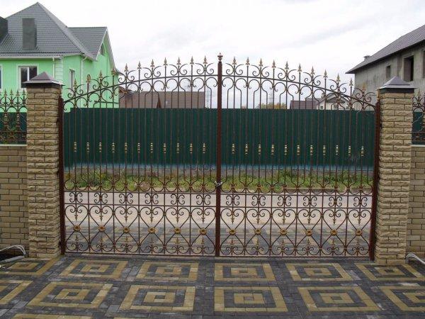 Фото 2 Забор ворота калитка из профлиста под ключ 302626
