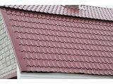 Фото  1 Металочерепиця, гнила вишня, мат, товщиною 0.45 мм., Словаччина U. S. Steel Košice 2172860
