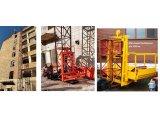 Фото  6 Н-77 м, г/п 2000 кг, 2 тонны. Мачтовый секционный подъёмник грузовой строительный для отделочных работ. 2020655