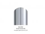 Фото  1 Металевий штахетник, 0,45 мм, глянцеве полімерне покриття, колір 9006 з двох сторін, ширина-13см 2358495