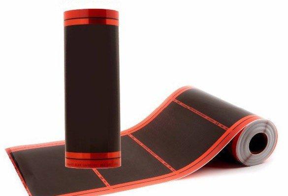 Фото 1 Інфрачервона нагрівальна плівка для електричних кого теплої підлоги 333975