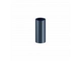 Фото  1 Труба 3мп для водосточной системы Fitt 125/80, цвет графит 2084824