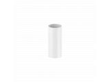 Фото  1 Труба ПВХ 3МП для водостічної системи Fitt 125 / 80мм, колір білий. 2084820