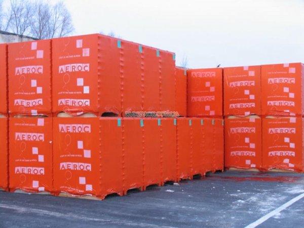 Фото 1 Газобетон, Аерок піноблок 300х200х600 ціна, вага і характеристики 339599