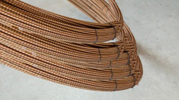 Фото  1 Стеклопластиковая арматура 4 мм. с напылением песка заменяет 6 мм. металлическую арматуру. 2109104