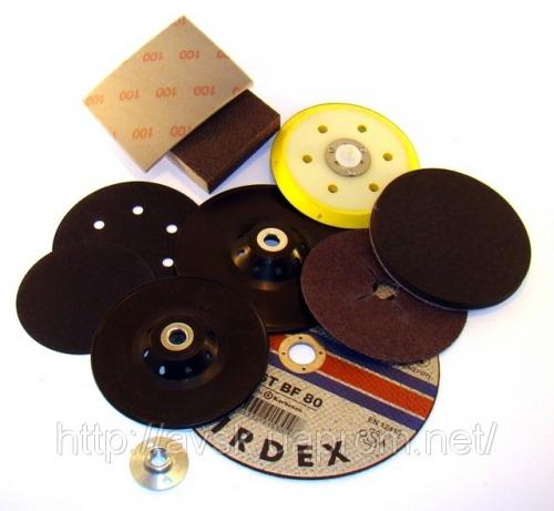 Абразивные материалы торговой марки SMIRDEX