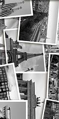 Absolute (Collage) черный(Декор)2 300х600размер, мм (доставка)