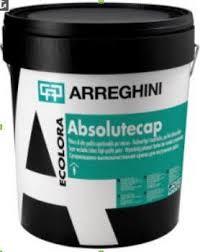 ABSOLUTECAP - Матовая водная краска для внутренних работ. Обладает хорошей укрывистостью. Выдерживает влажную очистку.