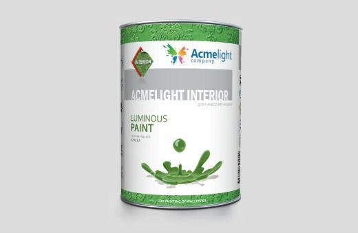 AcmeLight Interior 1л. - водоэмульсионная краска для нанесения на обои на акриловой основе