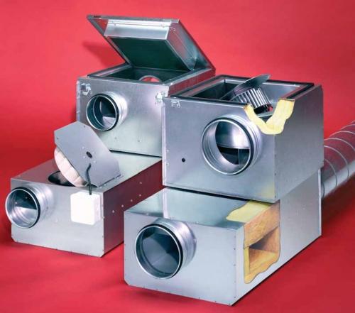Acoustic Line – шумоизолированные центробежные трубные вентиляторы SilentBox® и SlimVent SVS