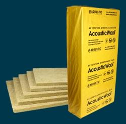AcousticWool Floor звукоизоляция минеральная акустическая вата. Сертифицировано УкрСЕПРО