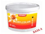 Фото  1 Acrylcolor внутренняя водоэмульсионная краска, База А, 10 л 2038710