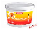 Фото  1 Acrylcolor внутренняя водоэмульсионная краска, База А, 5 л 2038712