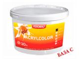 Фото  1 Acrylcolor внутренняя водоэмульсионная краска, База С, 10 л 2038705