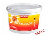 Фото  1 Acrylcolor внутренняя водоэмульсионная краска, База С, 5 л 2038706