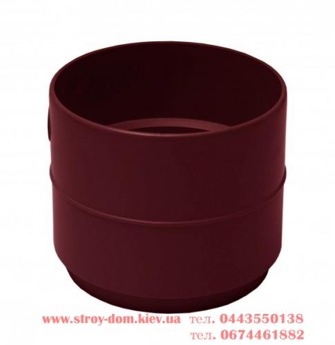 Адаптер трубы 10075 водосточной системы Rainway 130 белый, каричневый, красный, зелёный, серый, кирпичный.