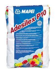 ADESILEX-P10-білий цементно-полімерний клей з швидким набором міцності високоеластичний для плитки, мозаїки