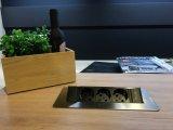 Фото  7 Встраиваемый блок розеток GTV 3 гнезда прямоугольный черный 3600Вт без кабеля, SCHUKO 7438806