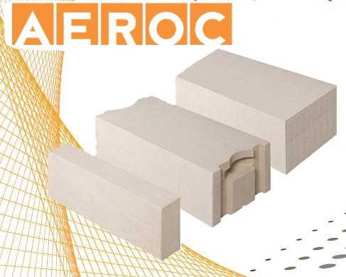 Не требует утепления! Газоблок AEROC D300 плотностью 300 кг/м3