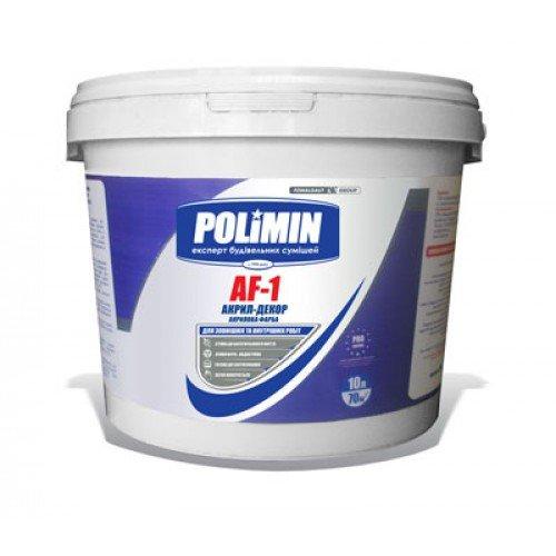 Фото  1 POLIMIN AF-1 акриловая краска 1807283