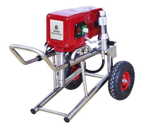 Агрегат покрасочный поршневой для вязких материалов Airless 6840iB, 1,3 кВт, шланг до 90 метров, мах сопло 0,029