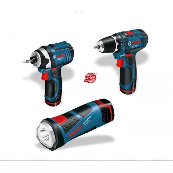 Аккумуляторный шуруповерт Bosch GSR 10.8-2-Li GDR 10.8 V GLI 10,8 V L-Boxx