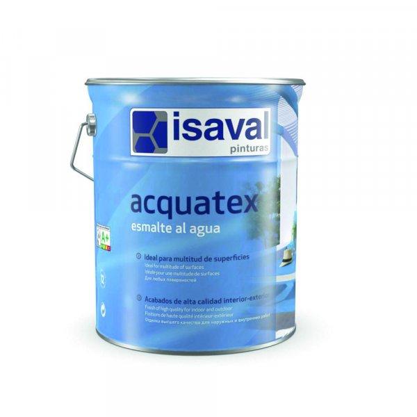 Фото  1 Акриловая эмаль на водной основе без запаха, экологически чистая АКВАТЕКС глянцевая 0,75л до 9м2 2081029